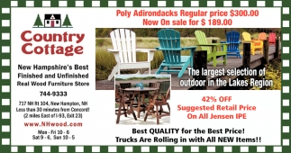 The Largest Selection Of Outdoor In The Lakes Region