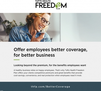 Why Choose Tufts Tufts Health Freedom Concord Nh