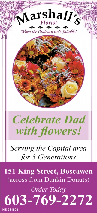 Celebrate Dad With Flowers!