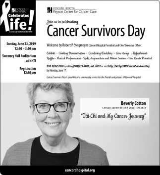 Cancer Survivors Day