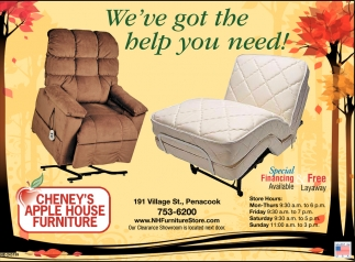 Cheneys Apple House Furniture Concord Nh Furniture Walls