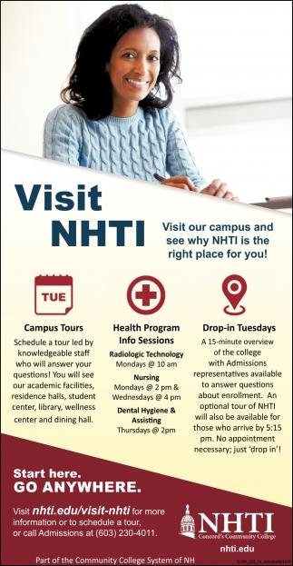Visit NHTI