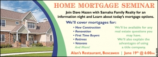 Home Mortgage Seminar