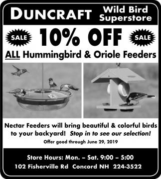 All Hummingbird & Oriole Feeders
