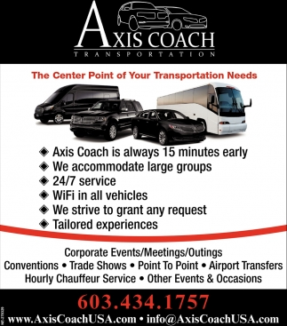 The Center Point For Your Transportation Needs