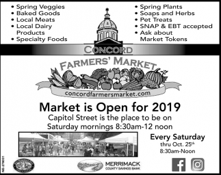 Market Is Open For 2019