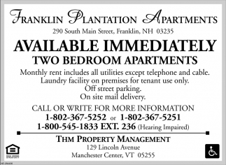 Franklin Plantation Apartments