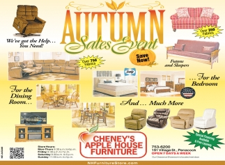 Autumn Sales Event