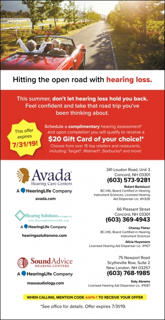 Hitting The Open Road With Hearing Loss