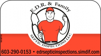 E.D.R. & Family Septic Inspections