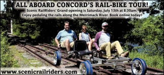 All Aboard Concord's Rail-Bike Tour!