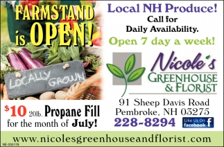 Farmstand Is Open!