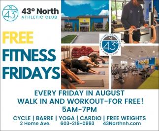 Free Fitness Fridays
