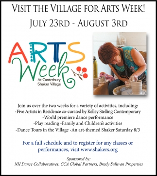 The Village For Arts Week