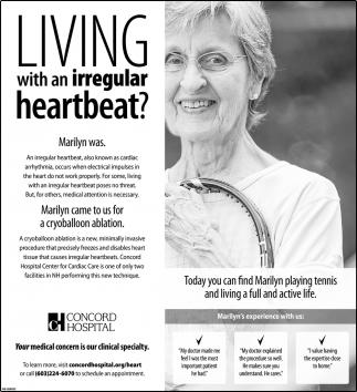 Living With An Irregular Heartbeat?