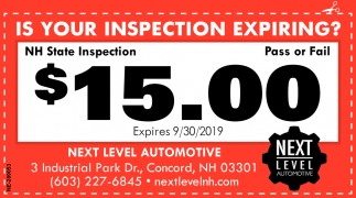 Is Your Inspection Expiring?