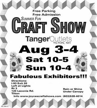 Summer Fun Craft Show