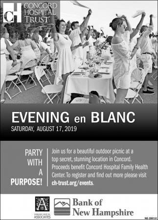 Evening En Blanc