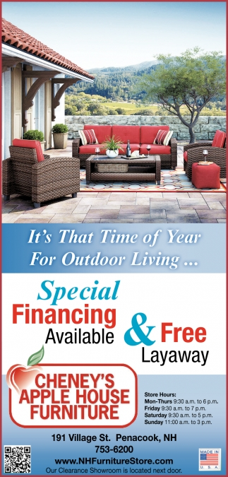 It's That Time Of The Year For Outdoor Living