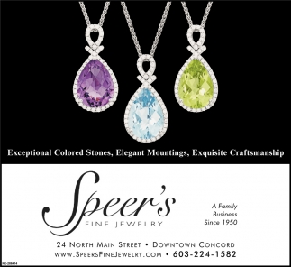 Exceptional Colored Stones, Elegant Mountings, Exquisite Craftmanship