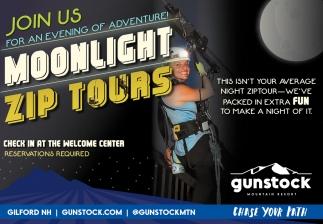 Moonlight Zip Tours
