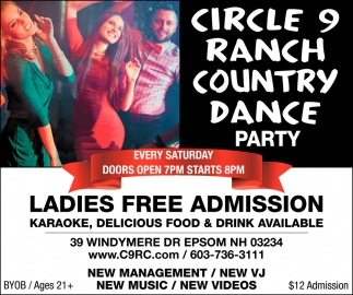 Ladies Free Admission