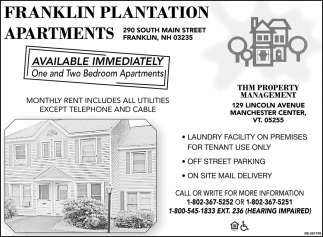 Franklin Plantation Apartments