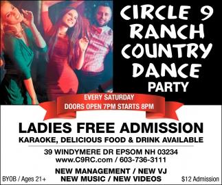 Ladies Free Admission