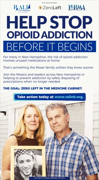 Help Stop Opioid Addiction