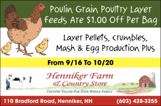 Poulin Grain Poultry Layer