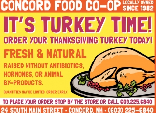 Order Your Thanksgiving Meal Today