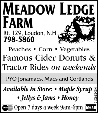 Famous Cider Donuts & Tractor Rides