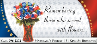 Remembering Those Who Served With Flowers..