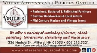 Where Artisans & Pickers Gather