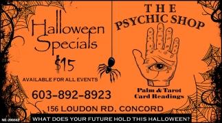 Halloween Specials