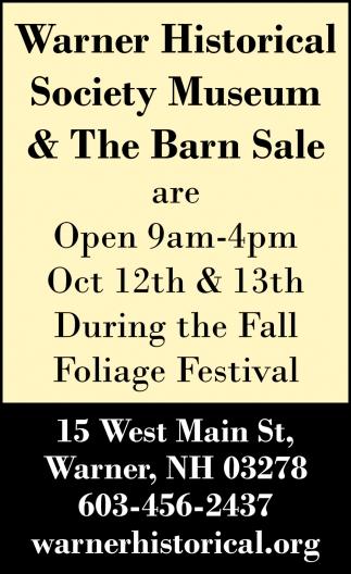 The Barn Sale