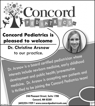 Welcome  Dr. Christine Arsnow