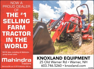 The #1 Selling Farm Tractor In The World