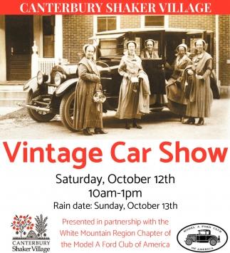 Village Car Show