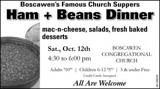 Ham + Beans Dinner