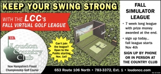 Keep Your Swing Strong