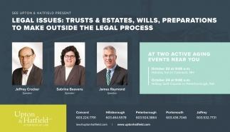 Legal Issues: Trusts & Estates