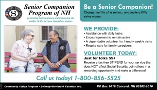 Be A Senior Companion!