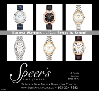 Bulova Watches - New Styles In Stock!