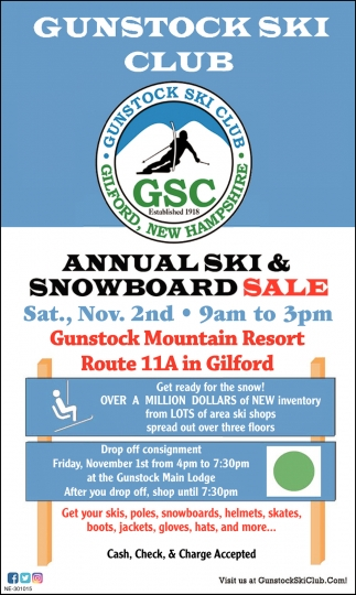 Annual Ski & Snowboard Sale