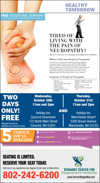 Tired Of Living With The Pain Of Neuropathy?