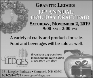 19th Annual Craft Fair