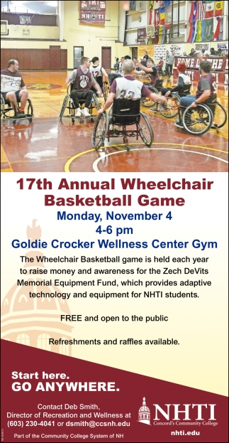 17th Annual Wheelchair Basketball Game