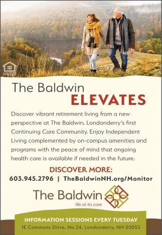 The Baldwin Elevates