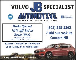 Volvo Specialist